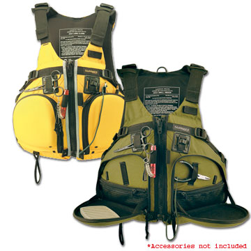 photo: Stohlquist Fisherman life jacket/pfd