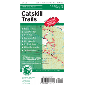 NY-NJ Trail Conference Catskill Trails Set