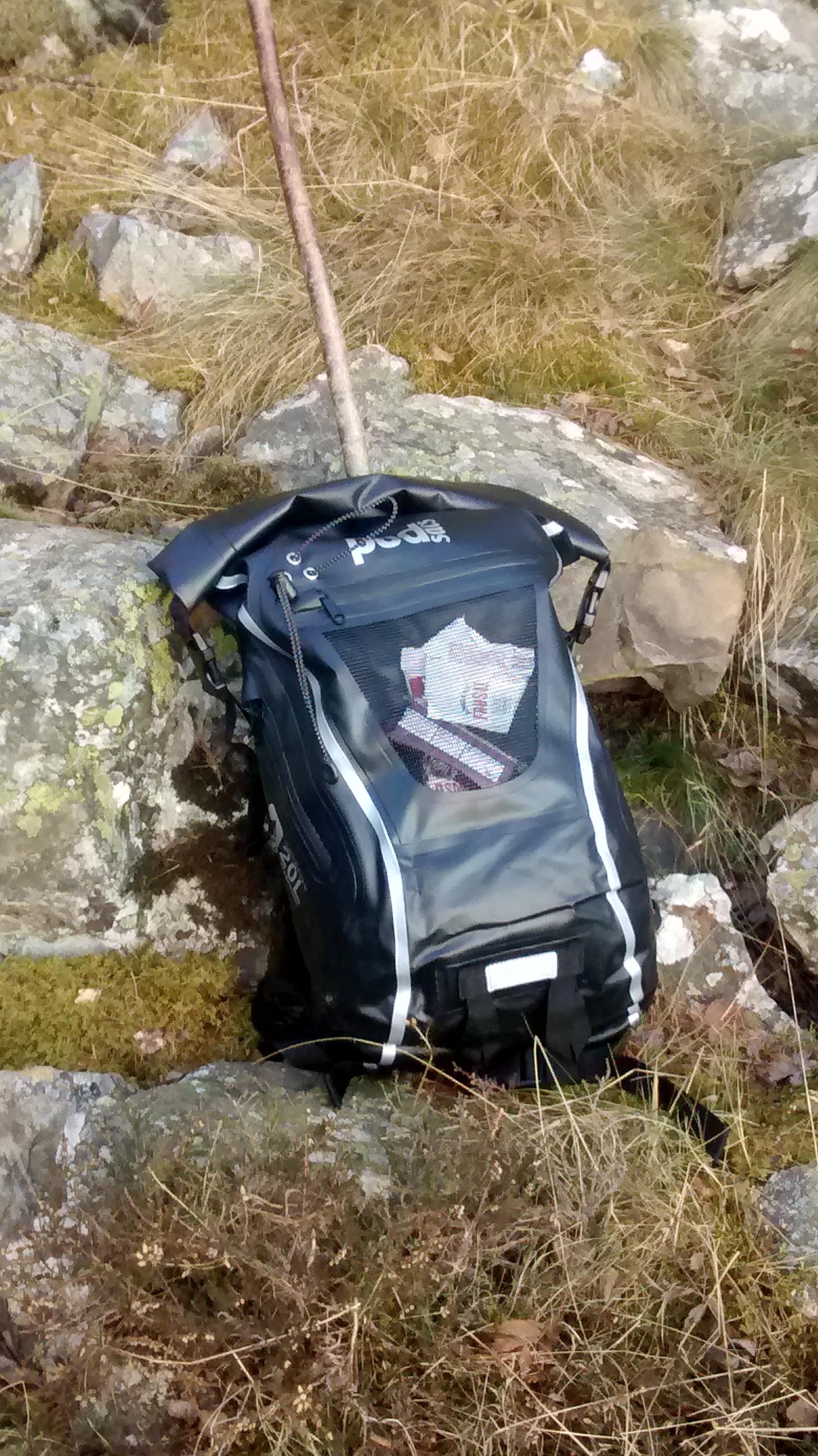 photo: Podsacs Waterproof 20L Ruscksack daypack (under 35l)