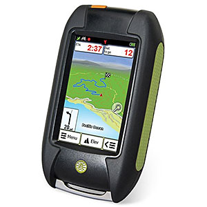 photo of a Rand McNally handheld gps receiver