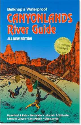 Westwater Books Belknap's Waterproof Canyonlands River Guide