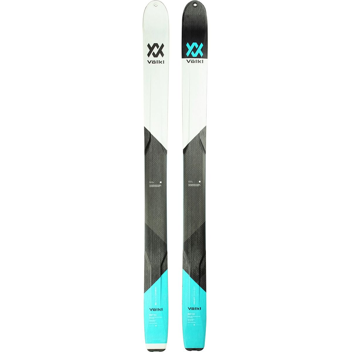 photo: Volkl BMT 122 alpine touring/telemark ski