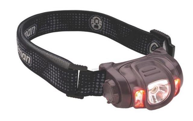 photo: Coleman Multi-Color 150L LED headlamp