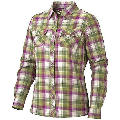 photo: Marmot Megan Flannel LS hiking shirt