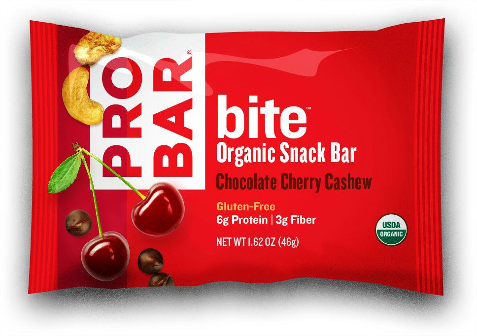 ProBar Chocolate Cherry Cashew Bite Bar