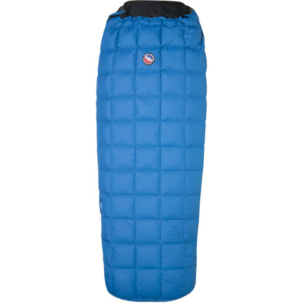 photo: Big Agnes Yampa 45° warm weather down sleeping bag
