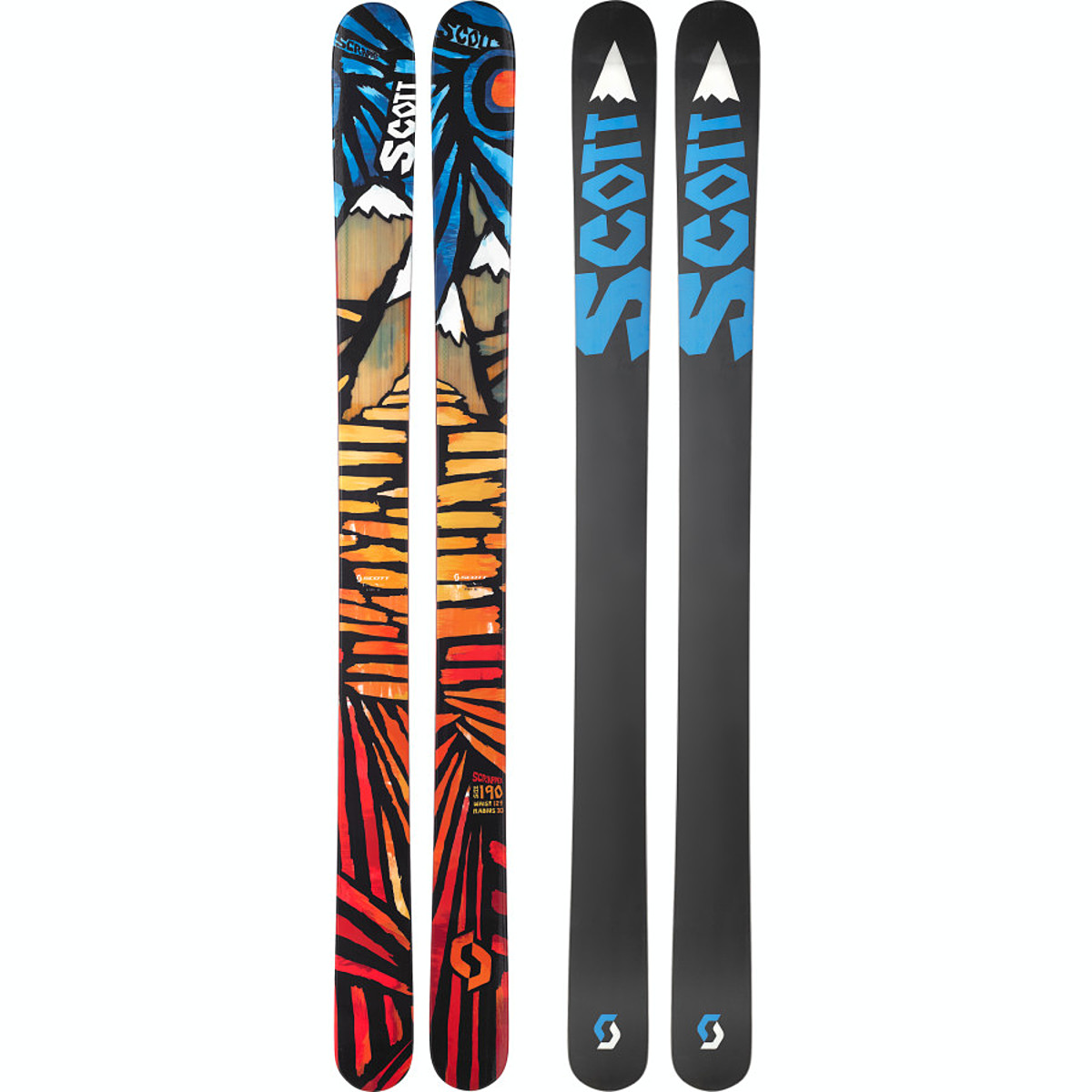 photo: Scott Scrapper alpine touring/telemark ski