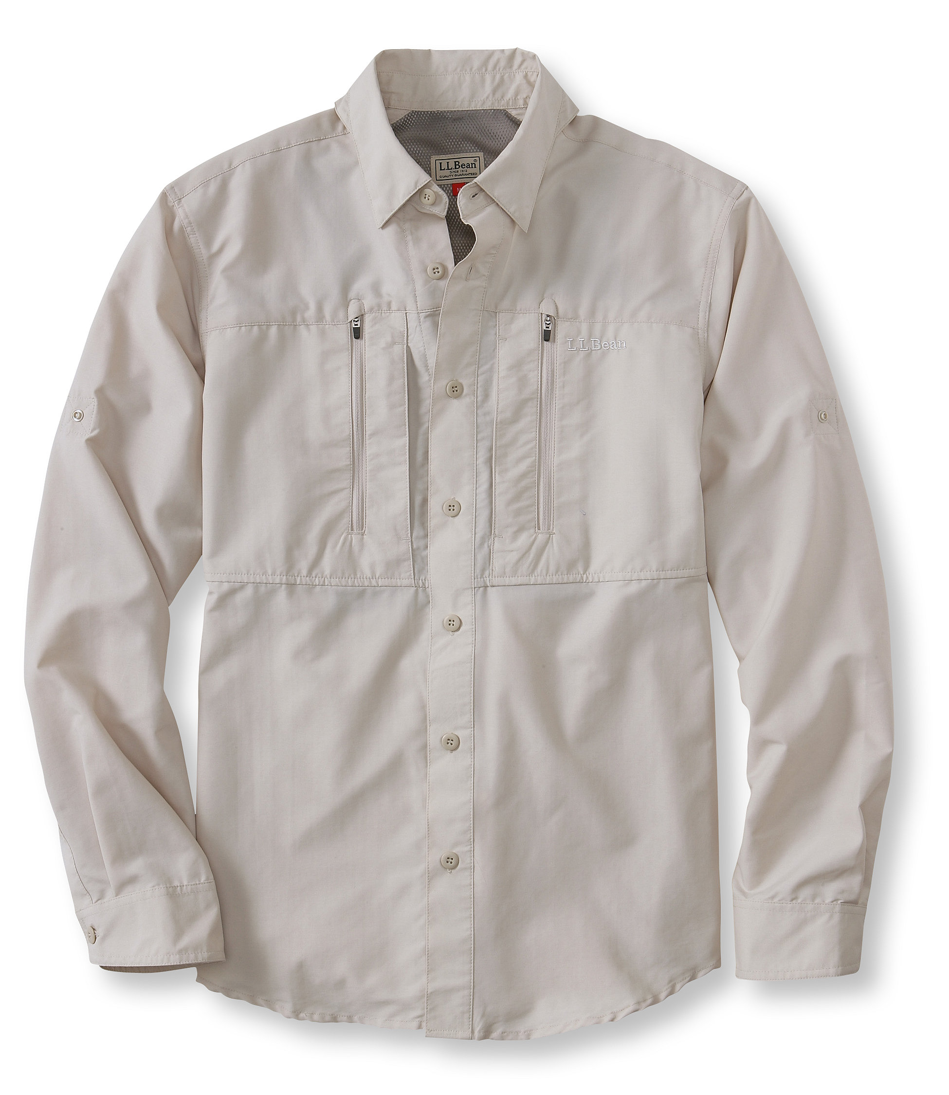 photo: L.L.Bean No Fly Zone Shirt hiking shirt