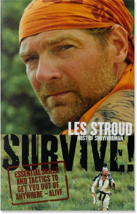 photo: HarperCollins Les Stroud Survive first aid/safety/survival book
