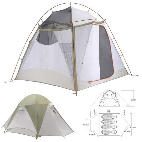 photo: Mountain Hardwear Corners 4 three-season tent