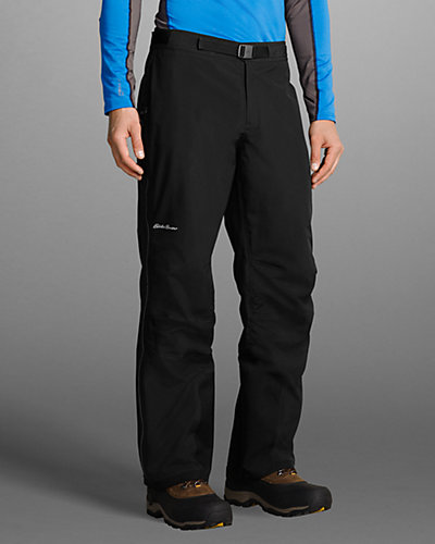 photo: Eddie Bauer First Ascent Rainier Storm Shell Pants waterproof pant