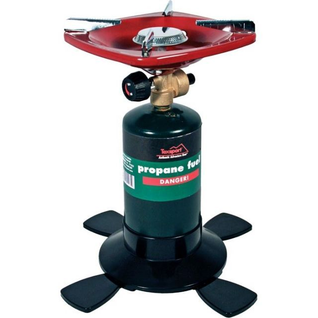 photo: Texsport Single Burner Propane Stove compressed fuel canister stove