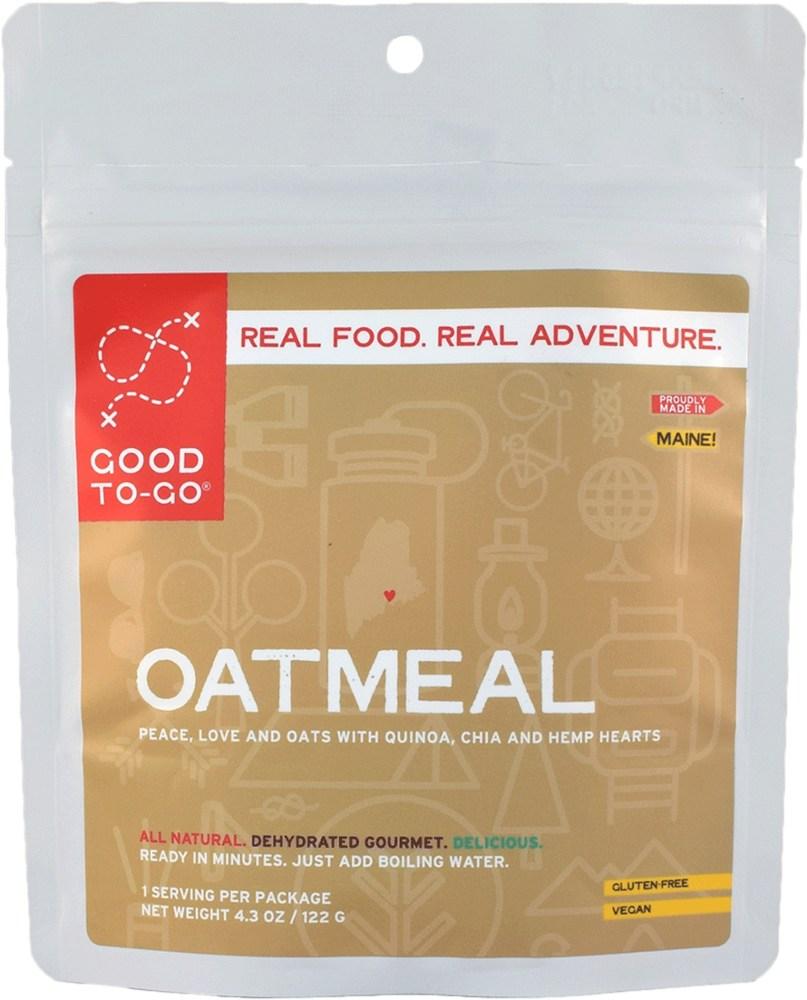 photo: Good To-Go Oatmeal breakfast