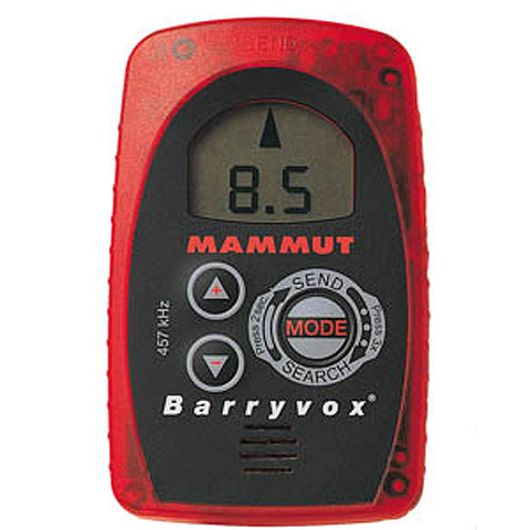 photo: Mammut Barryvox Opto 3000 avalanche beacon
