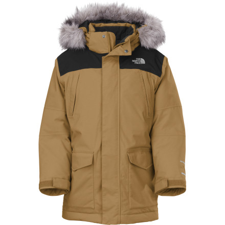 photo: The North Face Boys' Artigas Parka down insulated jacket