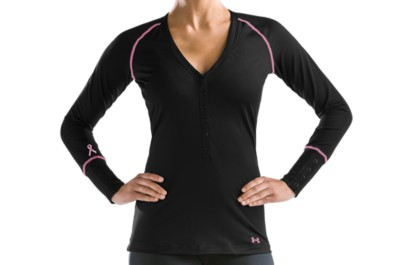 photo: Under Armour Evo ColdGear Henley long sleeve performance top