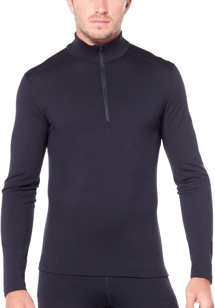 photo: Icebreaker Oasis Long Sleeve Half Zip base layer top