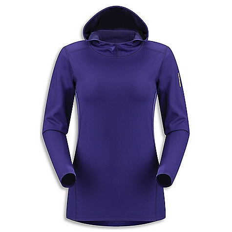 photo: Arc'teryx Women's Phase AR Hoody long sleeve performance top