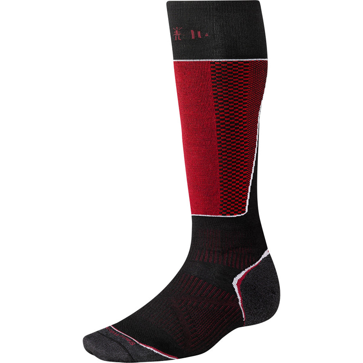 photo: Smartwool Men's PhD Ski Racer Sock snowsport sock