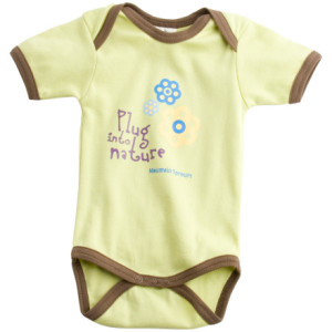 Mountain Sprouts SS Nature Onesie