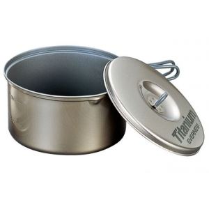 photo: Evernew Ti Non-Stick Pot 1.3L pot/pan