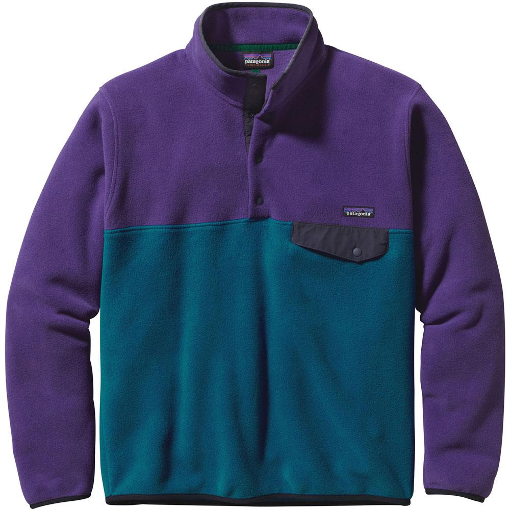 photo: Patagonia Men's Lightweight Synchilla Snap-T Pullover fleece jacket