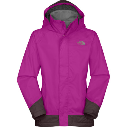 photo: The North Face Girls' Dorado Jacket waterproof jacket