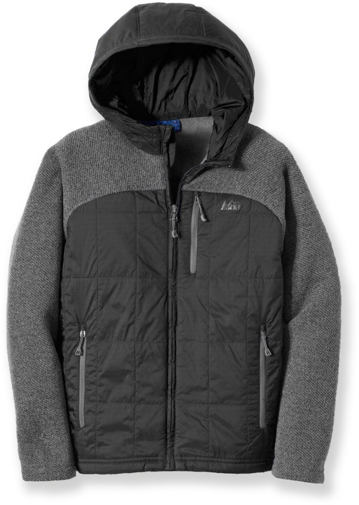 photo: REI Boys' Myka Sweater Fleece Jacket synthetic insulated jacket