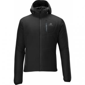 photo: Salomon Insulated Hoodie Jacket synthetic insulated jacket