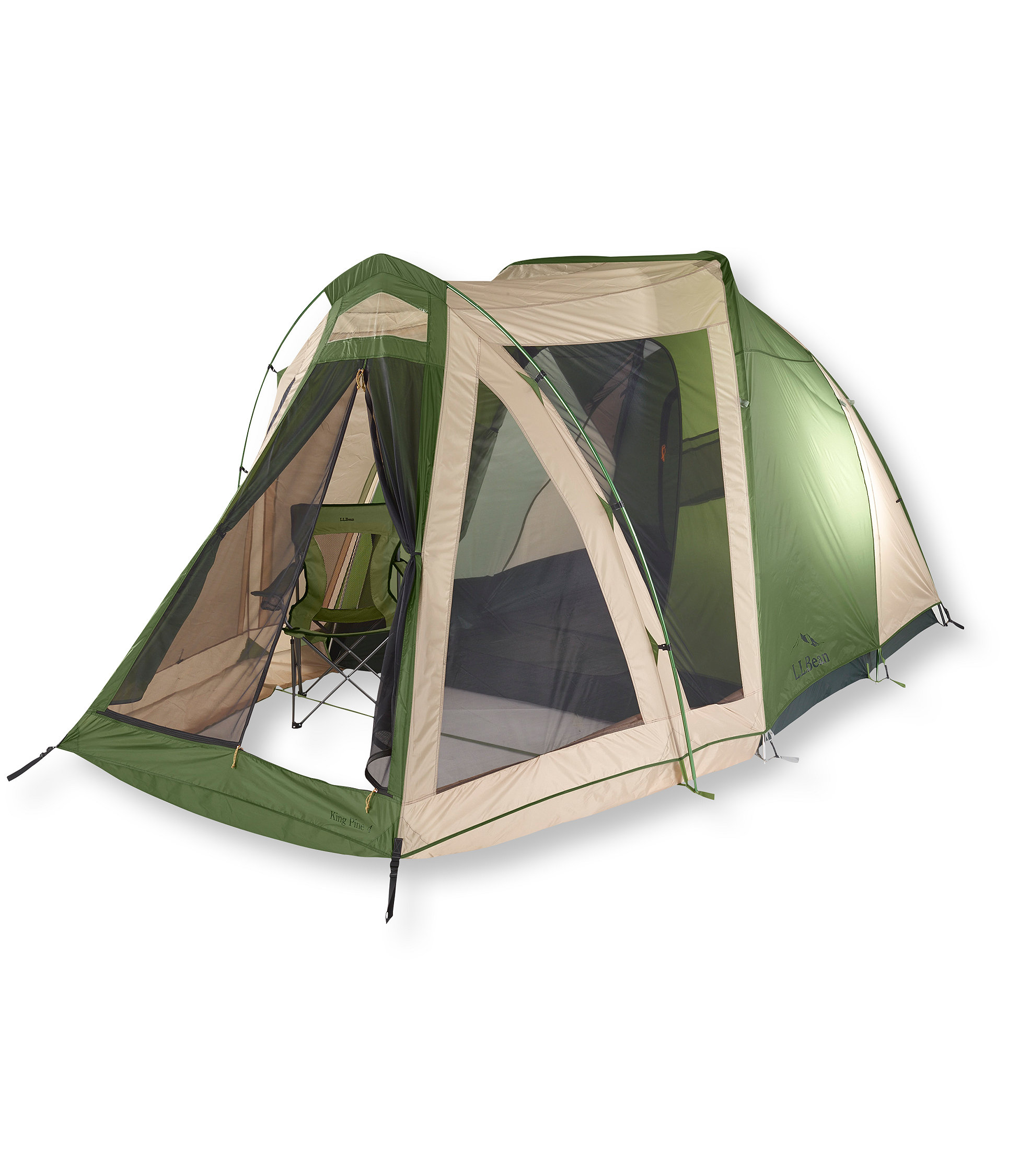 photo: L.L.Bean King Pine 4-Person three-season tent