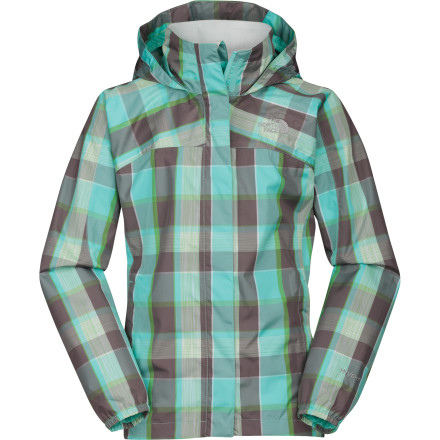 photo: The North Face Plaid Resolve Jacket waterproof jacket