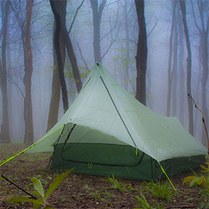 photo of a YAMA Mountain Gear three-season tent