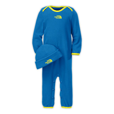 photo: The North Face Cozy Fleece Set kids' snowsuit/bunting