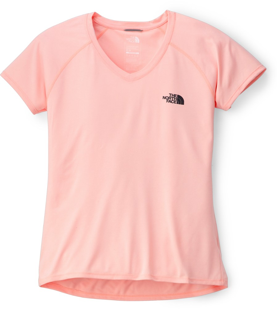 photo: The North Face Short-Sleeve Reaxion Amp V-Neck Tee short sleeve performance top