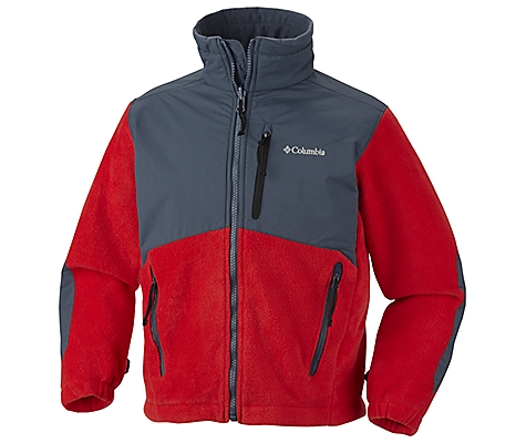 photo: Columbia Kids' Ballistic Fleece fleece jacket