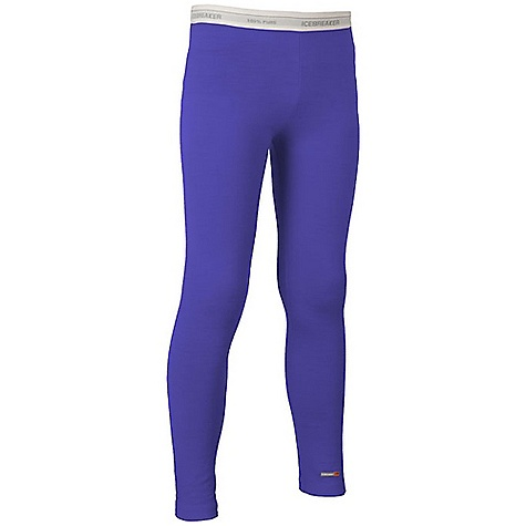 photo: Icebreaker Girls' Kids Legging base layer bottom