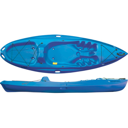 photo: Emotion Kayaks Renegade sit-on-top kayak