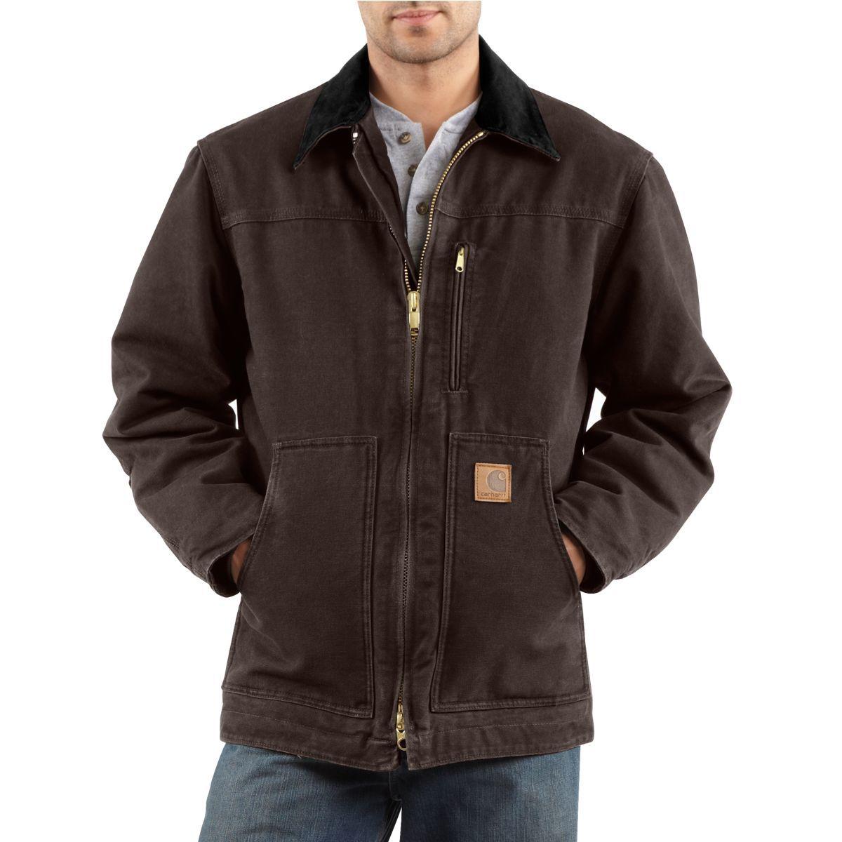 Carhartt Sandstone Ridge Coat/Sherpa-Lined