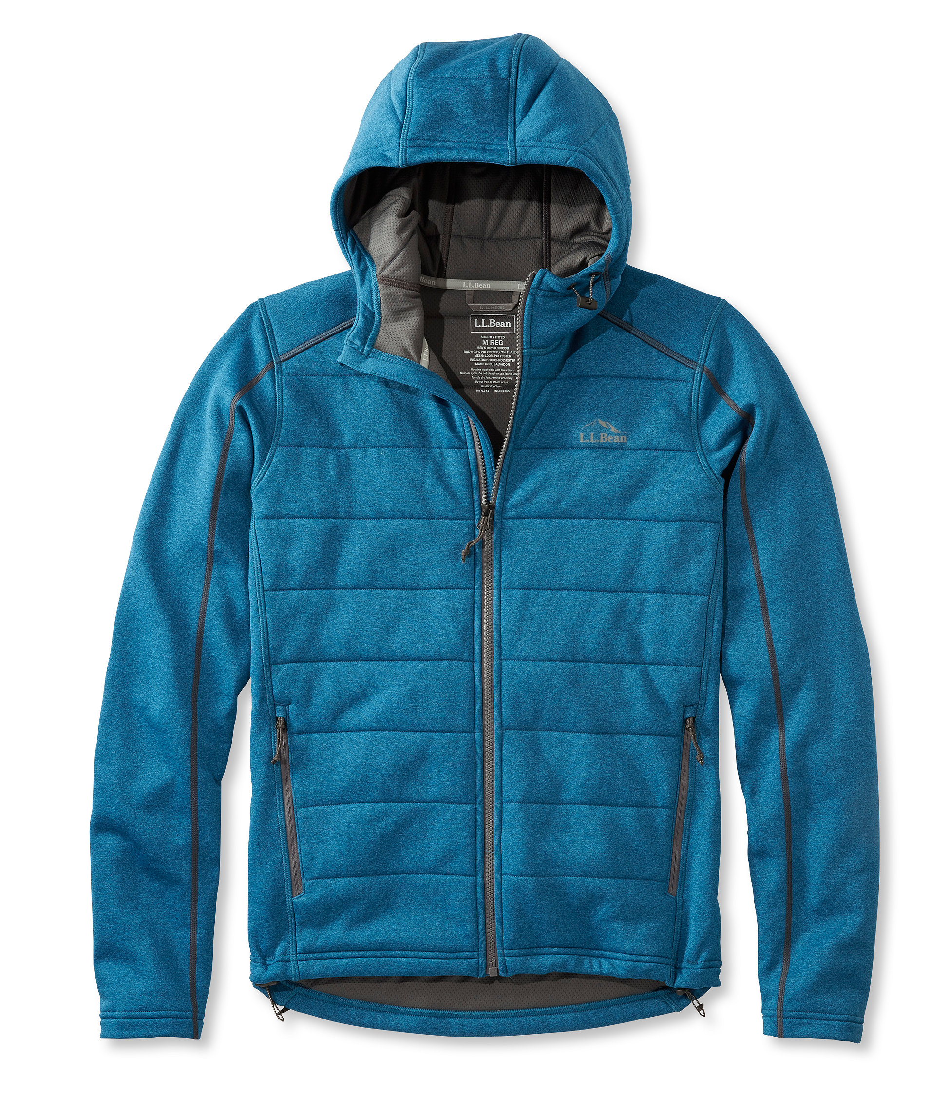 L.L.Bean Mountain Pro Hoodie Full-Zip
