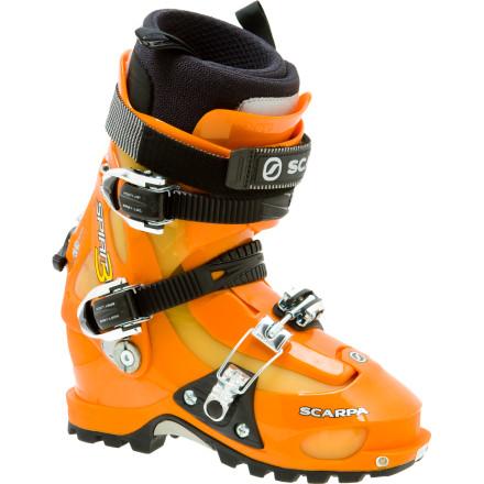 photo: Scarpa Spirit 3 alpine touring boot