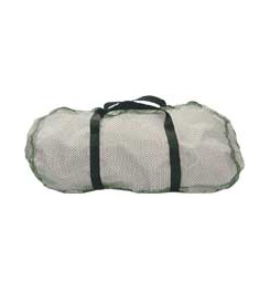 Log House Designs Mesh Duffel Bag