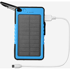 photo: Eddie Bauer Solar Power Bank 6000mAh power storage