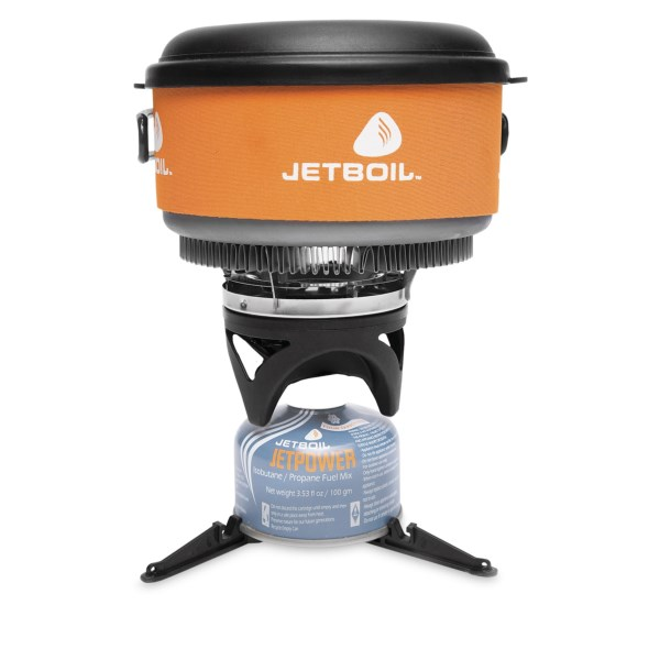 photo: Jetboil Zip Cooking System compressed fuel canister stove