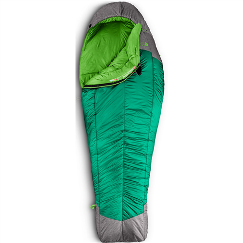 photo: The North Face Snow Leopard 0° 3-season synthetic sleeping bag