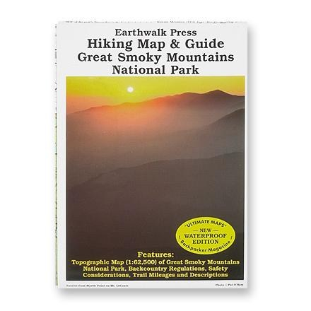 Earthwalk Press Hiking Map and Guide: Great Smoky Mountains National Park