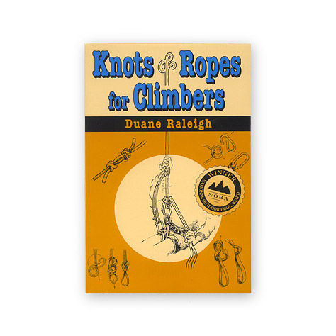 photo: Stackpole Books Knots & Ropes for Climbers climbing book