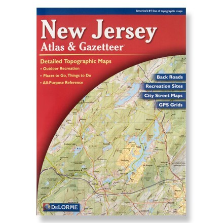 photo: DeLorme New Jersey Atlas and Gazetteer us northeast map application