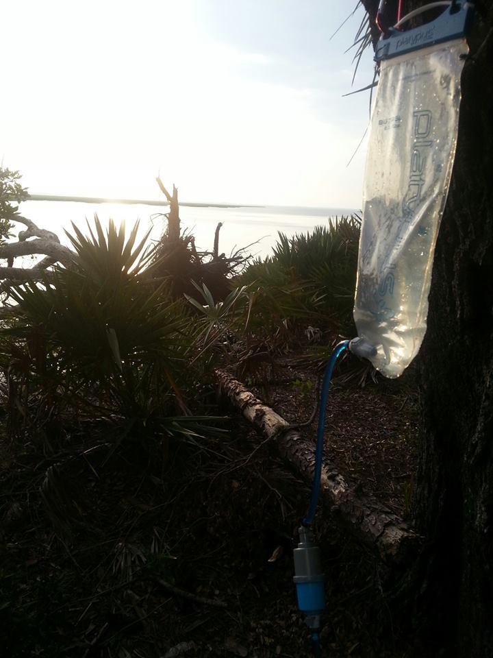 photo: Sawyer Inline Water Filter bottle/inline water filter