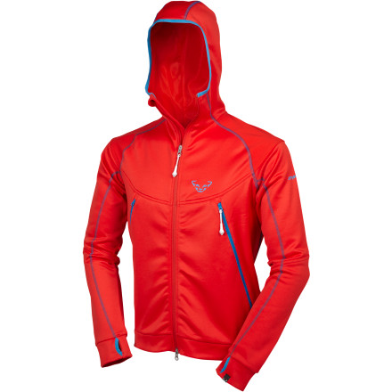 photo: Dynafit Claw Hoodie fleece jacket