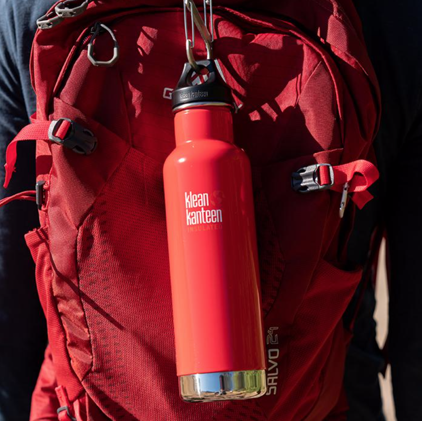 photo: Klean Kanteen Insulated Classic water bottle